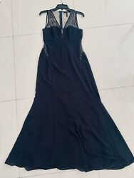 BCBG Black Evening Gown Long Size 6