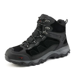 Mens Waterproof Hiking Boots Outdoor Mid Trekking Breathable Mountaineering Shoe $41.39