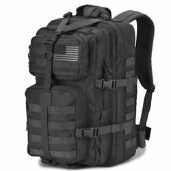 DIGBUG Military Tactical Backpack Army 3 Day Assault Pack Bag Black 40l $39.99