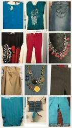 Womens Plus Size Clothing Lot size 16 24 Items $50.00