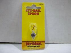 Northland Tackle Eye Ball Spoon 1 16 ounce jig 7 colors to choose from NIP $3.99