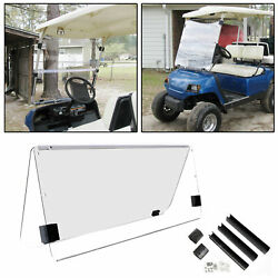 For Yamaha G22 Clear Windshield 2003-06 Folding *NEW IN BOX* Golf Cart Part $68.90