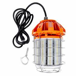 Hyperikon LED Temporary Work Light Fixture Orange Construction Drop Light