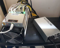 4xBITMAIN AntMiner S9 13.5TH with power supply ***FREE SHIPPING***