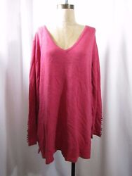 NWOT ROBERT KITCHEN Canada knit Tunic Blouse Sz XXL $14.99