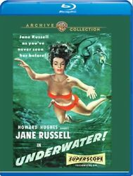 UNDERWATER New Sealed Blu ray Jane Russell Warner Archive Collection $21.14