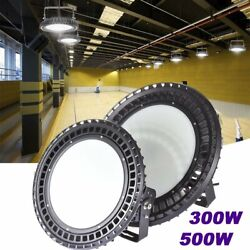 500W 800W UFO LED High Bay Light Commercial Warehouse Factory Lamp Super Bright $80.86