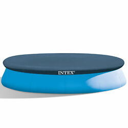 Intex 58919E 12-Foot Easy Set Swimming Pool Debris Cover Tarp Blue Open Box $46.05