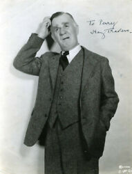 HENRY TRAVERS - AUTOGRAPHED INSCRIBED PHOTOGRAPH