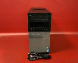 Dell OptiPlex 9020 Mid Tower Quad Core i7-4790 3.60GHz 8GB RAM 1TB HDD NO OS QTY $189.99