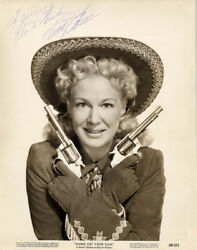 BETTY HUTTON - INSCRIBED PHOTOGRAPH SIGNED