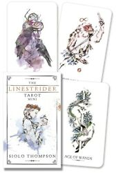 Linestrider Tarot Mini sized deck NEW Sealed 78 color card Gentle art S Thompson $13.95