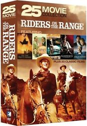 RIDERS ON THE RANGE 25 MOVIE COLLECTION New Sealed DVD $7.23