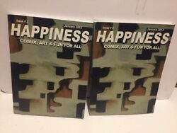 Happiness: Comix Art amp; Fun For All Issue #3 January 2013 $17.95