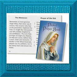 🕊 Catholic Prayer Book 🕊 My Pocket Prayer Book BLUE Cover Morning Daily MARY $2.95