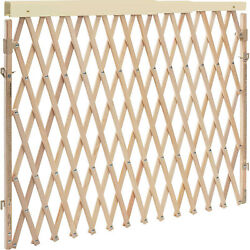 Evenflo Expansion Walk Thru Room Divider Baby and Pet Gate Tan Open Box $36.99