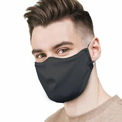 Face Mask Reusable and Washable with 3 Stage Filter Adult Made in the USA $6.99