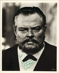 ORSON WELLES - INSCRIBED PHOTOGRAPH SIGNED