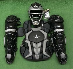 All Star System 7 Axis Youth 10-12 Catchers Gear Set - Black $319.95