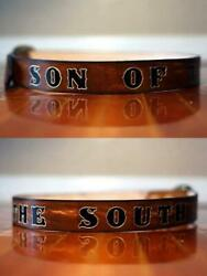 Mens Personalized Leather Belt $90.00