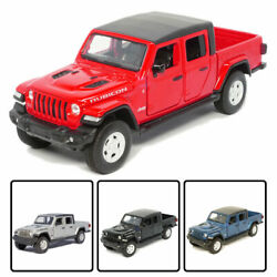 132 Jeep Wrangler Gladiator Pickup Truck Model Car Diecast Vehicle Collection $30.24