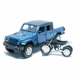 132 Jeep Wrangler Gladiator Pickup Model Car Diecast Vehicle Collection Blue $31.99