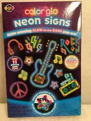 New Oglo color glow neon signs pop art Paint Set Glow In Dark $6.99