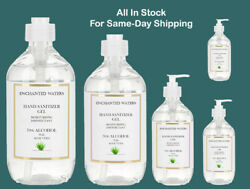 Hand Sanitizer Gel  70% Alcohol with Aloe Vera  2oz to 32 ounce -Same Day Ship $5.97
