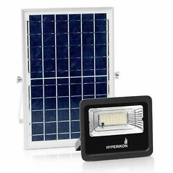 Hyperikon Solar Flood LED Light 25W Outdoor Security Lighting Remote Control