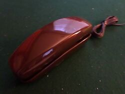 Brown Touch Tone  Trimline styletype of desk phone by Microcomunications $8.00