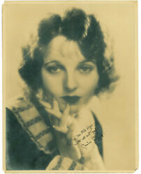 CORINNE GRIFFITH - AUTOGRAPHED INSCRIBED PHOTOGRAPH