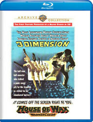 House of Wax 3D New Blu ray 3D Amaray Case Subtitled $17.11