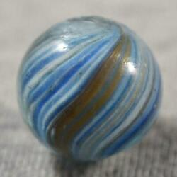 Antique GERMAN ONIONSKIN LUTZ MARBLE gt; 11 16quot; .700quot; $130.00
