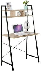 Home Office Computer Laptop Desk Table 3 Shelves 31.5 x 18 x 56 Inches $119.99