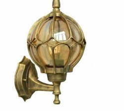 Retro Wall Lamp Balcony Porch Exterior Lights Vintage European LED Bulb Lighting