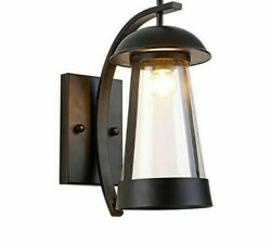 Wall Lamps Modern Light Clear Glass Outdoor Home Corridor Yard Gateway Lightings $205.99