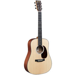 Martin DJr-10E Left-Handed 3/4 Acoustic-Electric Guitar w/ Gigbag, New! $599.00