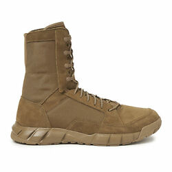 Oakley Men#x27;s Coyote Leather Light Boot 2 with Nylon Laces Sized 6 Tan Open Box $34.99