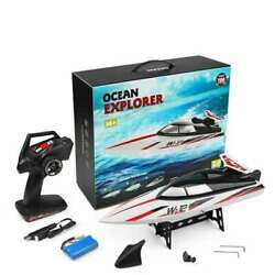 RC Ready to Go 2 Channel Racing Boat Remote Control Ship High Speed Waterproof $144.94