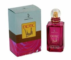 EXOTIC VANILLA Women#x27;s Boutique Impression 3.3 oz EDP Spray by DORALL COLLECTION $15.50