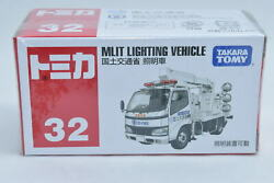 Tomica No.32 TOYOTA DYNA MLIT LIGHTING VEHICLE Toy Car Unopened $3.49