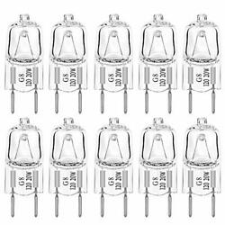 G8 20Watt 120Volt Halogen Light Bulbs Base Bi-Pin Shorter 35mm (1.38 $13.99