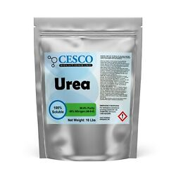 Urea – Premium 46% Nitrogen 46 0 0 Fertilizer – 10 Lbs by Cesco Solutions $19.99