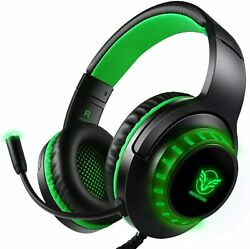 Gaming Headset with Microphone for PS4 PC Xbox One Headset Stereo Free Shipping $35.00