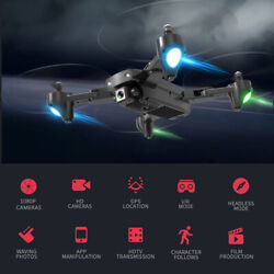CSJ S166GPS Drone with Camera 720P/1080P WIFI FPV Gesture Photos Quadcopter Y5C8 $112.94