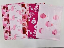 50 10x13 Designer Pink Pack Mailers Poly Shipping Envelopes Boutique Bags $13.25