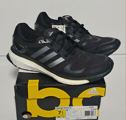 Adidas Energy Boost Men#x27;s Running Shoes Black Yellow G64392 Size 7.5 New $85.00