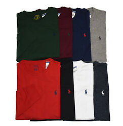 Men Polo Ralph Lauren LONG SLEEVE Crew Neck T Shirt S M L XL XXL STANDARD FIT $34.88
