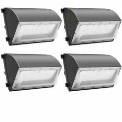 60W 120W LED Wall Pack Lights 100V 277V Commercial Outdoor Light Fixture