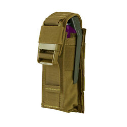 Coyote Tactical MOLLE PALS Modular Closed Top Single Flash Bang Utility Pouch $14.77